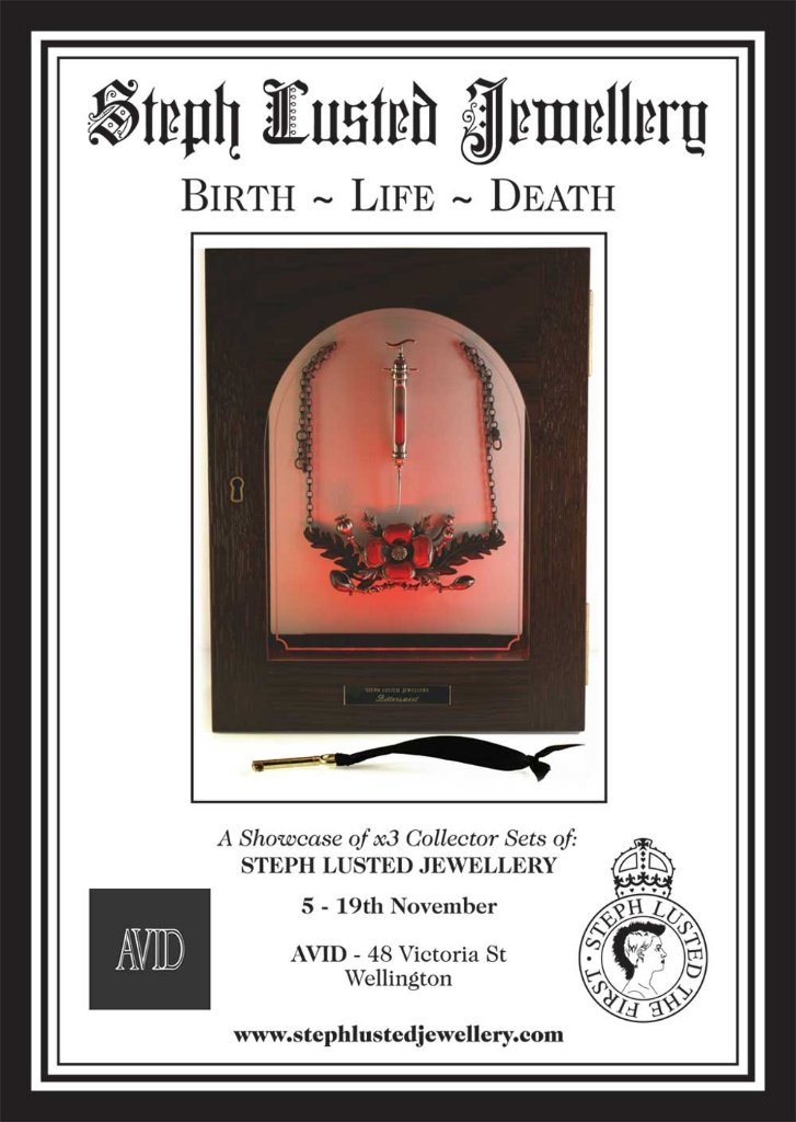 Birth, Death, Life Exhbition Poster