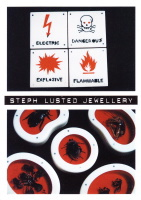 Steph Lusted Jewellery postcard