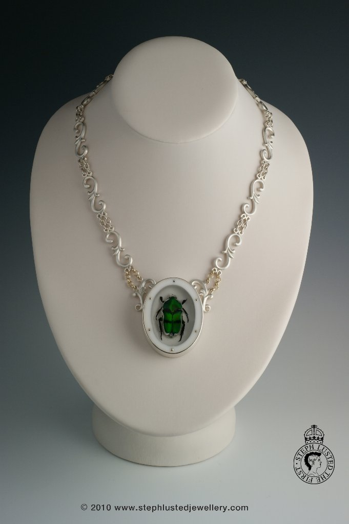 Steph_Lusted_Jewellery_Green_Beetle_Necklace