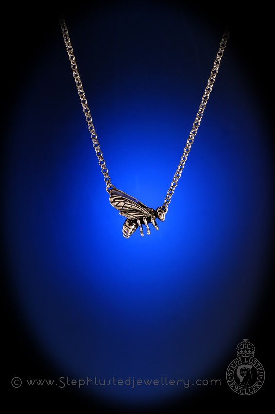 Sterling_Silver_Honeybee_Pendant