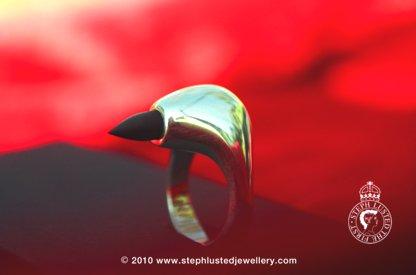 Pinky Finger Spike Ring