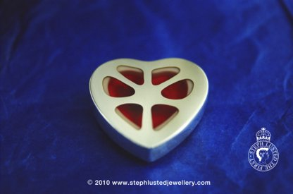 Heart Brooch/ Body Parts Collection