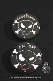 Bad Boy/ Dangerous Brooch
