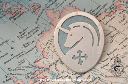 Unicorn Brooch/ Badges of Honour Collection