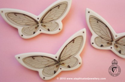 Cicadia Wing Butterfly Brooches