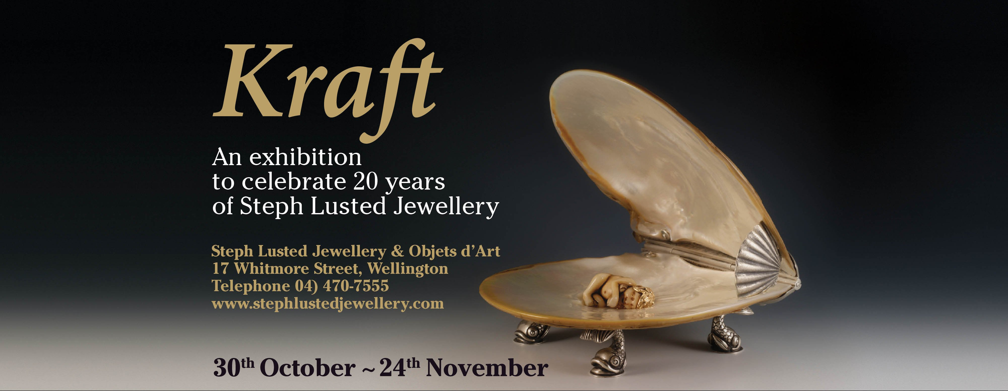 Kraft - An exhibition to celebrate 20 years of Steph Lusted Jewellery