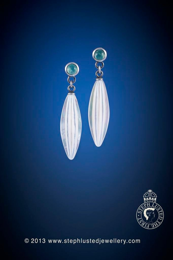 Chrysoprase_Drop_Earrings