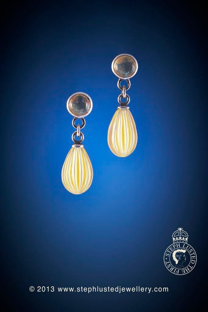 Honey_Dew_Drop_Earrings