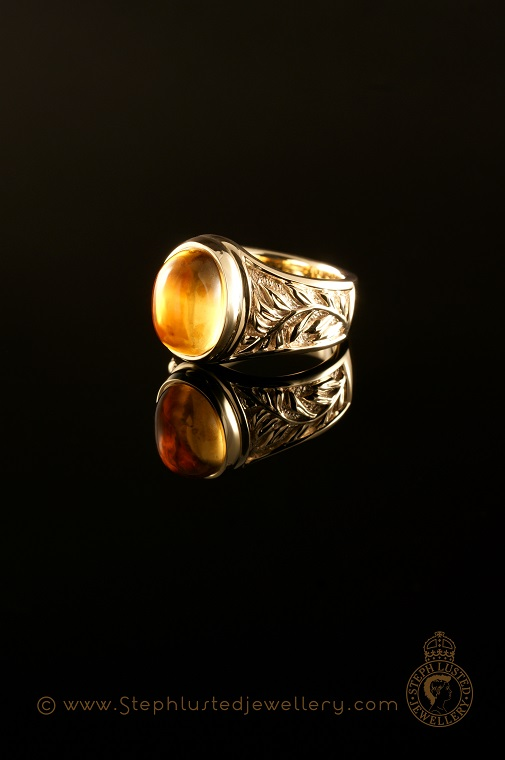Fern_Leaf_Ring_with_Citrine
