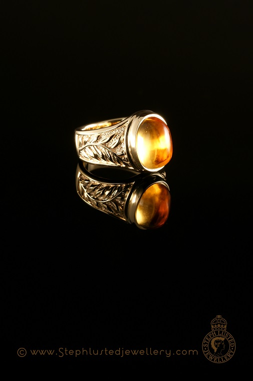 Fern_Ring_Gold_with_Citrine