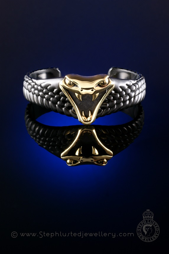 Mens_Viper_Cuff_Steph_Lusted_Jewellery