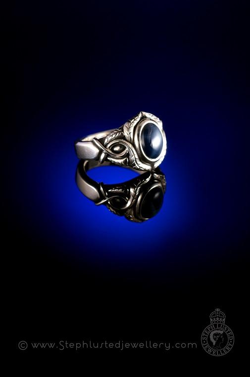 Art_Nouveau_Leaf_Ring_Commission