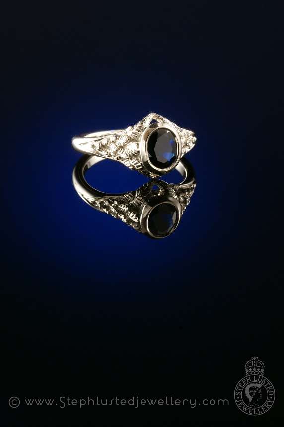 Feather_Engagement_Ring_StephLustedJewellery