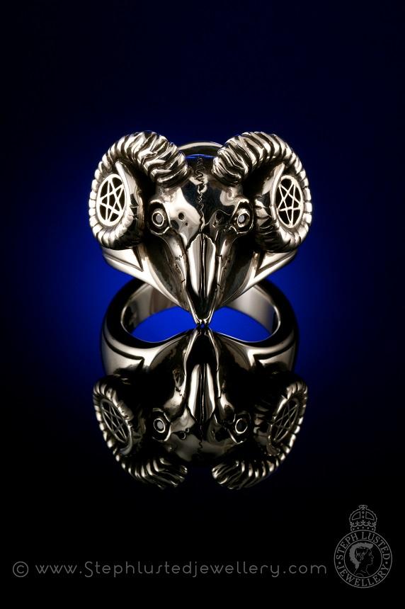 Goat_Skull_Engagement_Ring_StephLustedJewellery