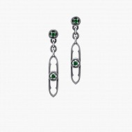 Gothic Revival - Drop Earrings (Long)