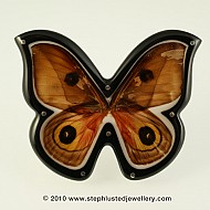 Moth Wing Brooch