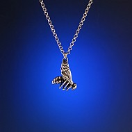 Honey Bee Charm - Sterling Silver