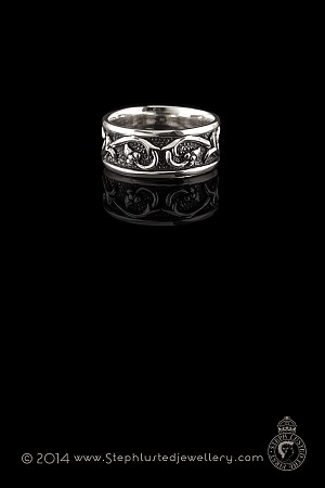 Medieval Passion Ring - Silver
