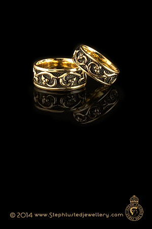 Medieval Passion Ring - Wide