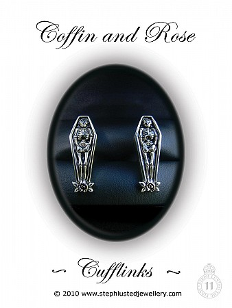 Coffin Cufflinks