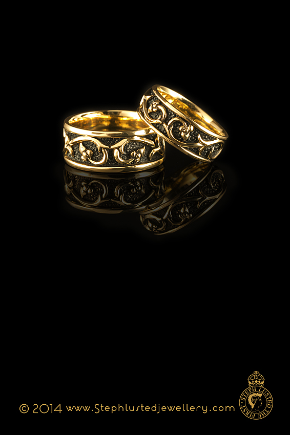Wellington Jeweller: Medieval_Passion_Ring_Wide
